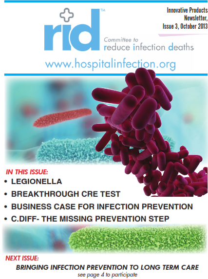 Article - Reducing Legionella Infection in Hospitals - 201308