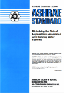 ASHRAE Guideline 12-2000 - Minimizing the Risk of Legionellosis Associated with Building Water Systems (PDF)